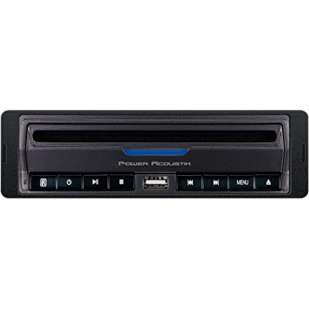 Power Acoustik PADVD-390 DIN Size in-Dash/Under-Dash DVD Player with USB/SD Input, Black