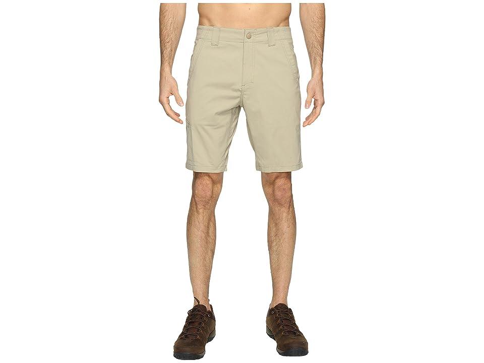 Royal Robbins Everyday Traveler Shorts (Khaki) Men