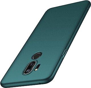 anccer Funda LG G7 ThinQ, Funda LG G7 [Serie Colorida] [Ultra-Delgado] [Ligera] Anti-rasguños Estuche para Carcasa LG G7 ThinQ/LG G7 (Grava Verde)