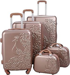 Morano Luggaue Set of 5 Pieces - Rose Gold