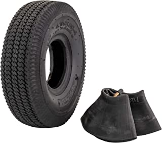 "Marathon 4.10/3.50-4"" Replacement Pneumatic Wheel Tire"