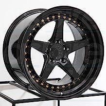 19x9.5 Aodhan DS05 DS5 5x114.3 22 Black Wheel Rim
