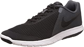 Nike Men's Flex Experience RN 4 Black/Black Dark Grey White Running Shoe - 9 D(M) US