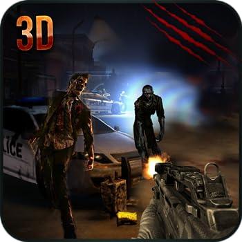 Police Sniper vs Zombie Attack