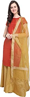 OOMPH! Women's Art Silk Straight Salwar Suit Set