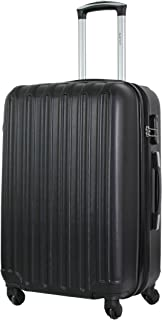 Valise Taille Moyenne 65cm - ALISTAIR Sécure - ABS Ultra légère et résistante - 4 Roues - Couleur spéciales - Marque franç...