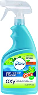 Bissell 1438 Febreze Stain Remover & Pretreat Oxy Spray, 22 oz