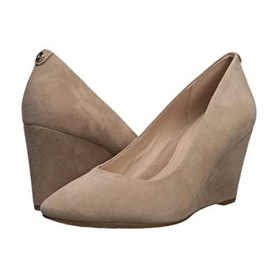 Taryn Rose Ysabella (Soft Beige Silky Suede) High Heels