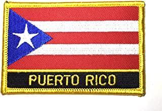 ViVa ,PUERTO RICO, Flag patch, Puerto Rico flag, Jean patch, Jacket patch, Hat patch, Backpack patch, Create design n customize ur things