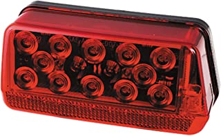 """Fulton Wesbar 281594 Waterproof LED Wrap-Around Tail Light, Over 80"""" Wide Trailer, Right/Curbside, Red"""