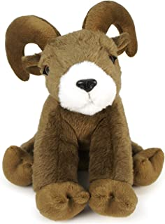 Ivan The Ibex Goat - 8 Inch Stuffed Animal Plush Ram - by Tiger Tale Toys