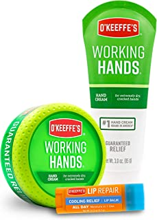 O'Keeffe's Working Hands & Lip Repair Variety Pack