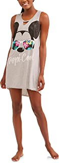 Mickey Mouse Disney Tropical Fun Be Cool Women's Chemise Pajamas