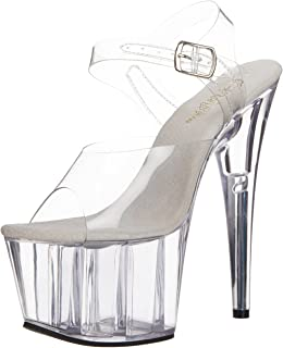Pleaser Women's Adore-708 Ankle-Strap