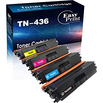 T DCP-L8410CDW Printer 1 Cyan NineLeaf Compatible Toner Cartridge Replacement for Brother TN436 TN-436 TN436C HL-8260CDW L8360CDWT L9310CDW MFC-L8690CDW L8900CDW L8610CDW L9570CDW