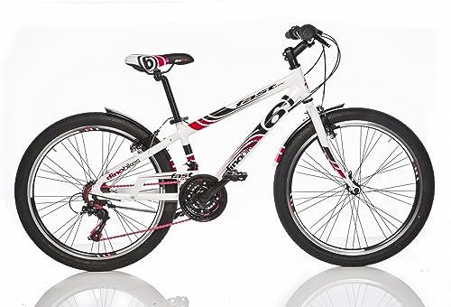 te hará satisfecho Bicicleta Niño 24 Pulgadas Dino Bikes Bikes Bikes Fast Boy Freno Delantero y Trasera al Manillar Cambio 18 Velocidades blanco  envío rápido en todo el mundo