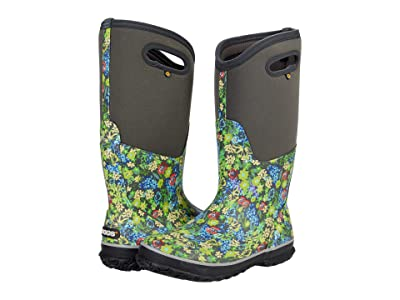 Bogs Classic Tall Night Garden Women