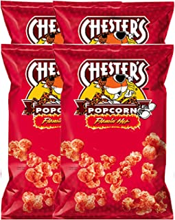 NEW Chester's Flaming Hot Popcorn Big Bag Net Wt 4.75oz (1)