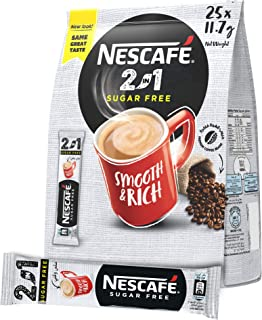 NESCAFE 2in1 Instant Coffee Mix Stick 11.7g (25 Sticks)