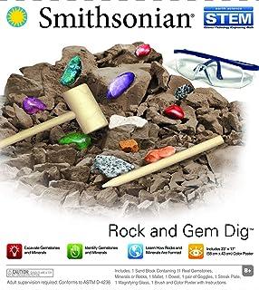 Smithsonian 52046 Rock and Gem Dig Kit