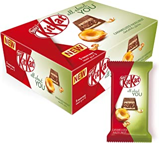 Kitkat All About You 5 Finger Hazelnut Chocolate Wafer, 43 gm – Pack of 12