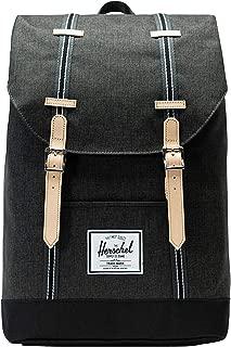 Herschel Supply Co. Unisex Retreat Black Crosshatch/Black One Size