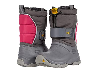 KEEN Kids Lumi Boot II WP (Toddler/Little Kid) (Steel Grey/Pink Peacock) Kid