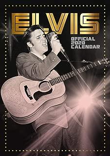 Elvis 2020 Calendar - Official A3 Wall Format Calendar