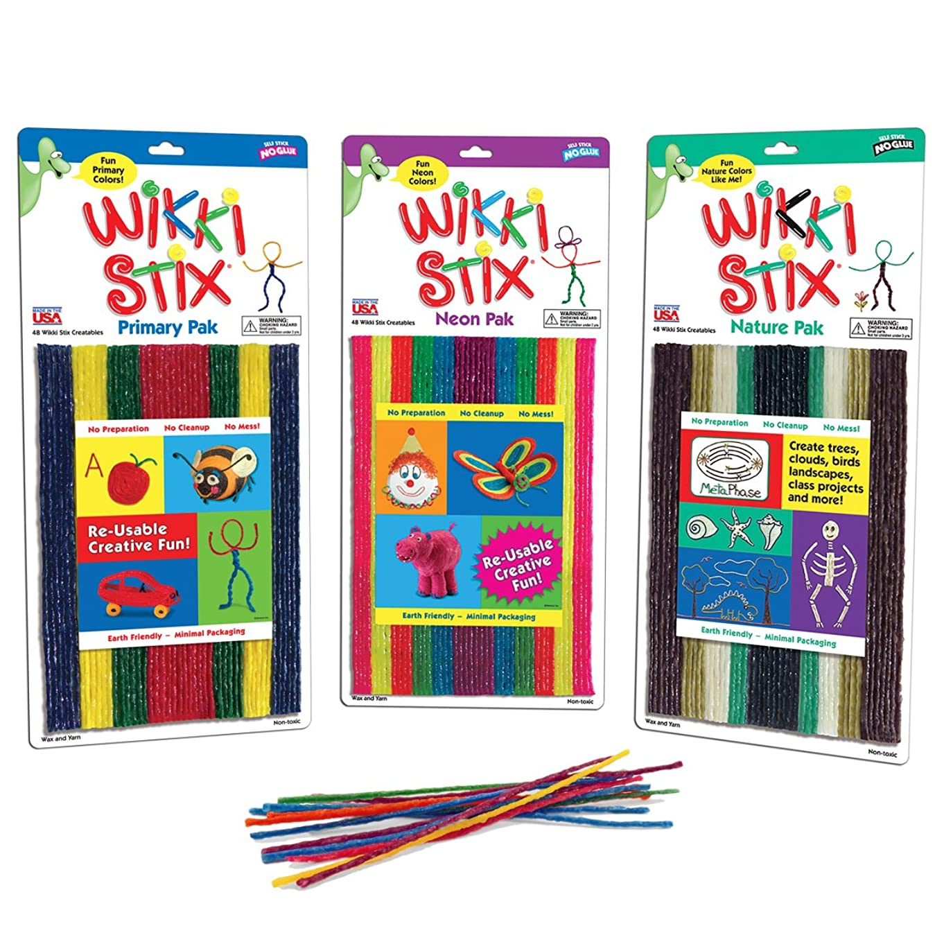 WikkiStix Triple Play Pack