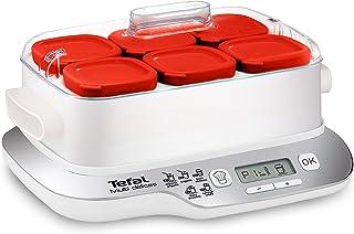 comprar comparacion Tefal Multidelices Express YG660120 - Yogurtera eléctrica con 5 programas y función Exprés de 4 horas, incluye 6 vasos con...