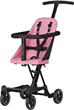 Best Dream On Me, Coast Stroller Rider, Lightweight, One hand easy fold, travel ready, Strudy, Adjustable handles, Soft-ride wheels, Easy to push, Pink Review