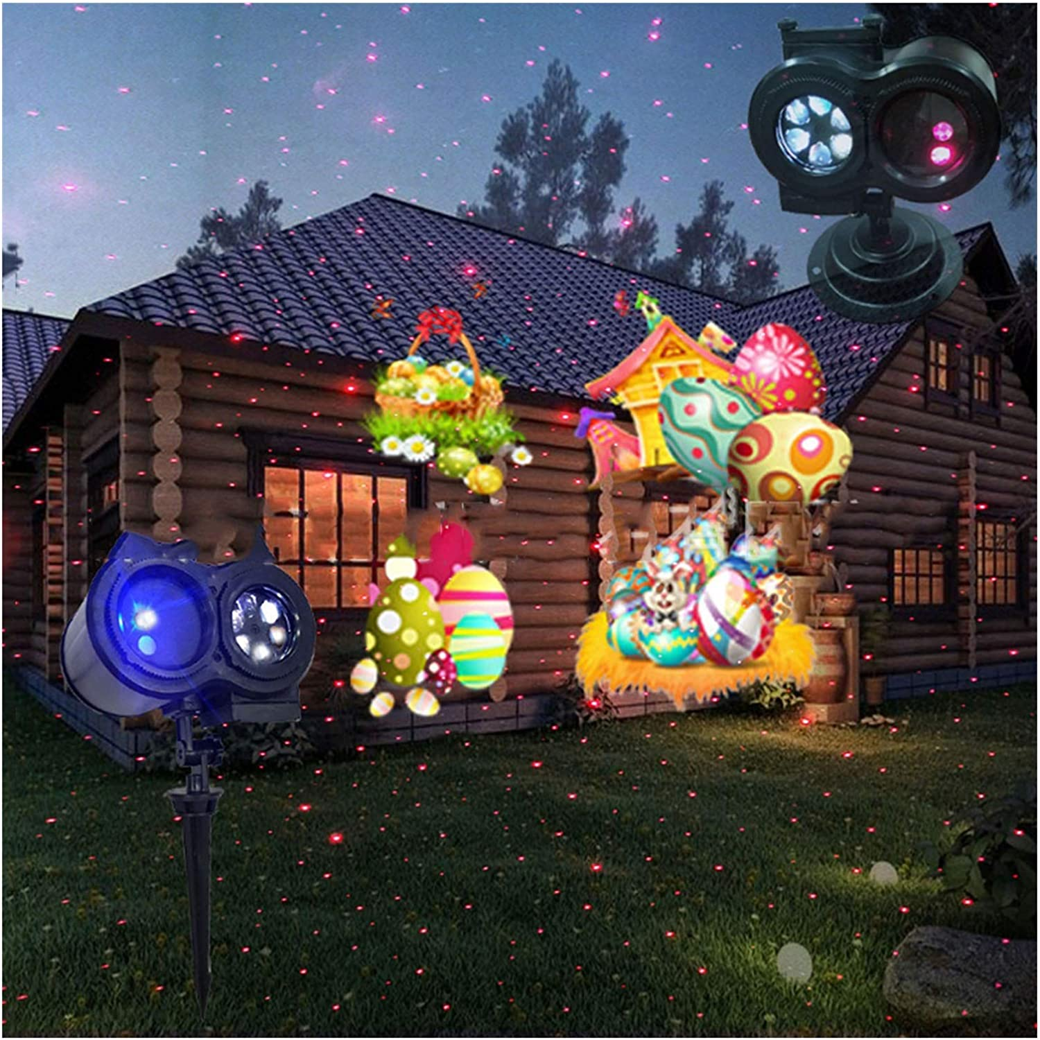 LIUPENGWEI sold out Fashionable Christmas Projector Lights,2 In Outdoor 1