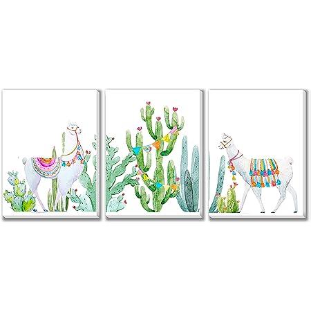 Canvas Wall Decor Texture of Dreams Baby Llama Art Prints Baby Room Design 16 x 20 3-Pack Set