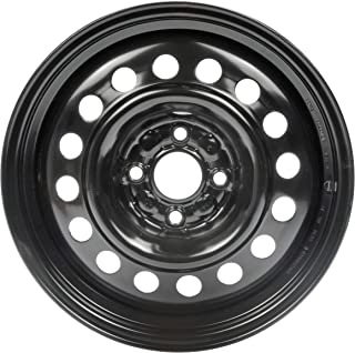 Dorman 939-146 Steel Wheel for Select Honda Models (15x6in. / 4x100mm) , Black
