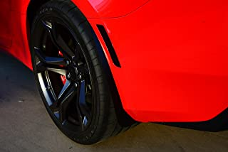 ZL1 Addons Rock Guards Front and Rear Deluxe Rock Guards - 1 Pair Compatible with 6th gen 2016/19 Camaro