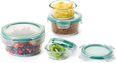 OXO Good Grips Smart Seal Round Container 4-Piece Set