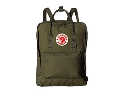 Fjallraven Kanken (Green) Backpack Bags