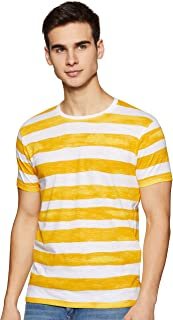 Beat London by Pepe Jeans Men's Striped Slim fit T-Shirt