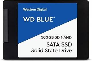 【国内正規代理店品】Western Digital WD Blue 内蔵SSD 2.5インチ 500GB SATA 3.0 5年保証 PS4メーカー動作確認済 WDS500G2B0A-EC