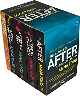 The Complete After Series Collection 5 Books Box Set by Anna Todd (After Ever Happy, After, After We Collided, After We Fell, Before)
