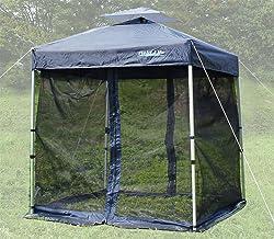 Field Life 180サイズテント用メッシュテントスクリーン【蚊帳】簡易テント オプション 開閉可能