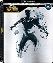 Black Panther 4k Ultra Hd + Blu-ray Best Buy Steelbook Hdr Avengers Infinity War