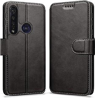 ykooe Phone Case for Motorola Moto G8 Plus, PU Leather Protective Phone Cover for Motorola Moto G8 Plus /G8 Play Flip Case