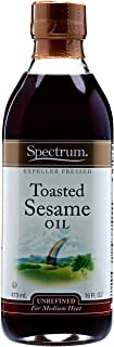 Spectrum Sesame Oil, Toasted, Unrefined, 16 oz