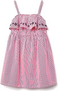 Gymboree Girls' Little Strap Printed Ruffle Dress