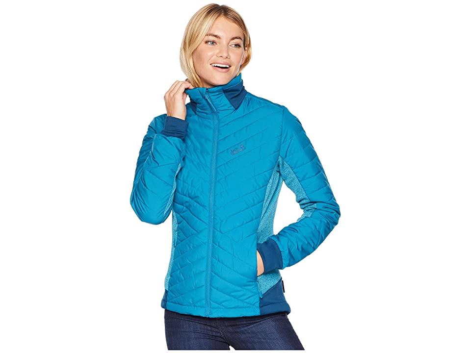 Jack Wolfskin Lyse Valley Jacket (Celestial Blue) Women