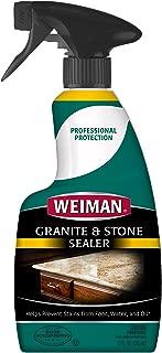 Weiman Granite Sealer and Protector (12 Ounce) for Granite Marble Soapstone Quartz Quartzite Slate Limestone Corian Laminate Tile Countertop
