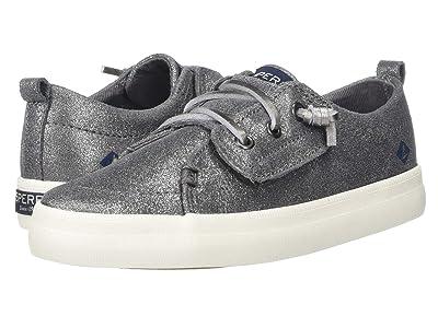 Sperry Kids Crest Vibe Jr. (Toddler/Little Kid) (Pewter Sparkle) Girls Shoes