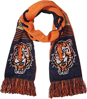 Team Color FOCO MLB Detroit Tigers Unisex Knit Scarf and Glove SETKNIT Scarf and Glove Set OS