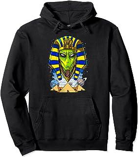 エイリアンエジプトのファラオツタンカーメン古代エジプトのピラミッドエジプトの神話宇宙エイリアン パーカー